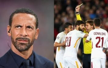 Rio Ferdinand knows who is to blame for Roma's heavy defeat to Liverpool