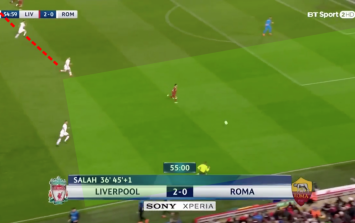 Why did Roma play no full backs against the three sharpest attackers in the world?