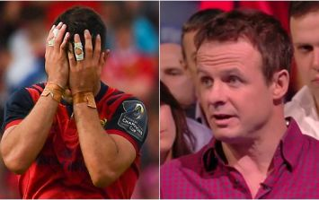 Austin Healey gets carried away recreating controversial Conor Murray incident