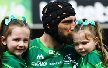 John Muldoon had the Connacht crowd in stitches with two comments in farewell speech
