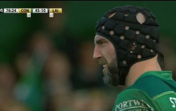 Connacht legend John Muldoon signs off from rugby by booting conversion against Leinster