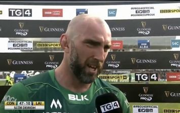 John Muldoon apologises for kicking conversion against Leinster