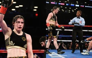 Katie Taylor unifies world title in easily the best fight of her career