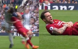 West Brom defender will surely be getting a retrospective ban for punching Danny Ings