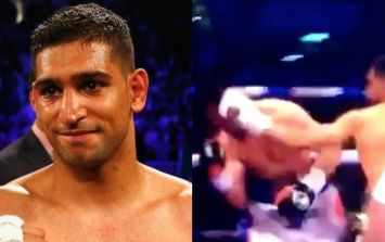 WATCH: Amir Khan knocks out Phil Lo Greco after just 40 seconds