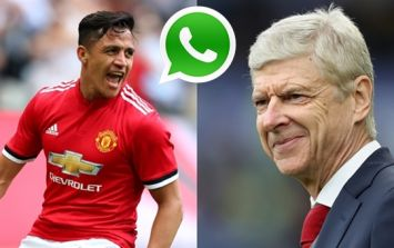 Alexis Sanchez reveals details of Arsene Wenger text exchange after Man United victory