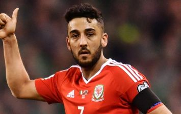 Neil Taylor's coach had a particularly old-school response to him being badly injured