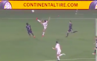 LA Galaxy fans losing it over Zlatan Ibrahimovic's karate kick