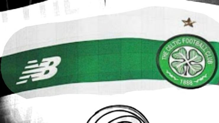 Celtic's leaked new kit is more white than green