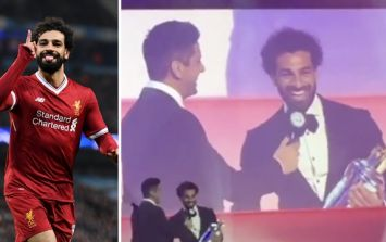 The audience loved Mo Salah's honest response to question during PFA awards