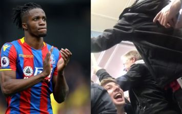 """Casual racism"" - footage emerges of Brighton fans' chant about Wilfried Zaha"