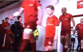 Simon Zebo chuckles his way through final Thomond Park tunnel walk