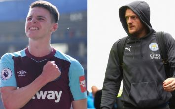 Declan Rice regroups after rough spell to slot Jamie Vardy into his back pocket