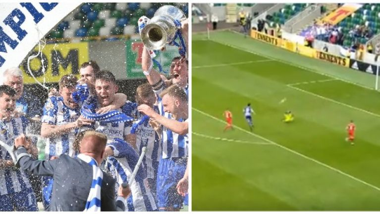 Eoin Bradley ignores manager's instruction before scoring superb solo goal