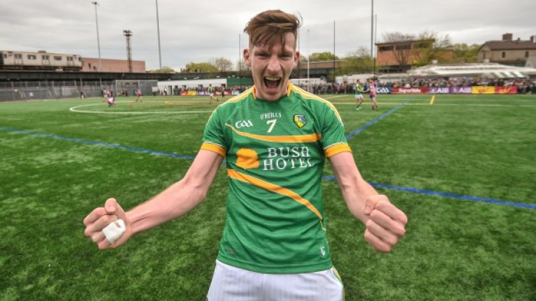 Leitrim's celebrations after dramatic win in New York are what the GAA is all about