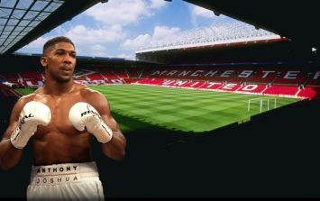 Old Trafford touted as potential venue for Anthony Joshua's next fight