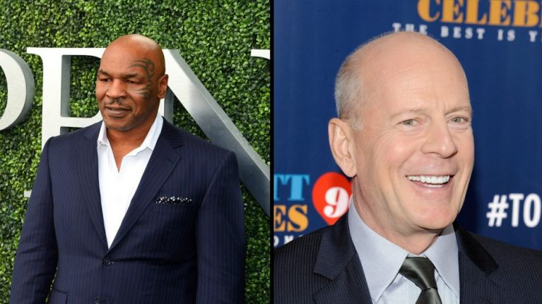 Bruce Willis to star in film about Mike Tyson's early life