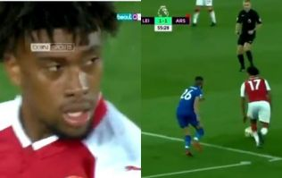 Absolutely awful Alex Iwobi effort only compounds Arsenal's misery