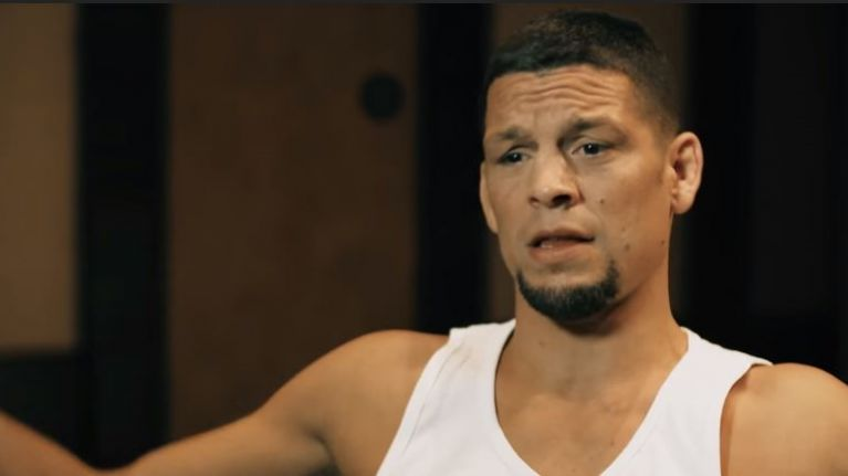 Nate Diaz wasn't happy about Conor McGregor fight announcement