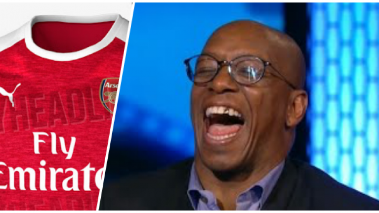 3927eba3f The leaked Arsenal kit for 2018 19 season has upset Ian Wright ...