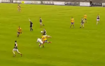 The injury time goal Mayo scored whilst playing a fly 'keeper