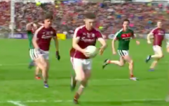 Colm Boyle's reaction to Johnny Heaney getting on the ball said it all