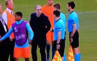 Martin O'Neill confronts referee following Ireland U17 penalty controversy