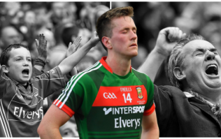 Cillian O'Connor hung around MacHale Park after defeat signing autographs