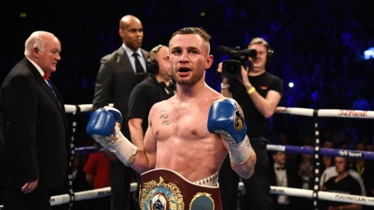 Carl Frampton names possible opponent and dates for Windsor Park fight