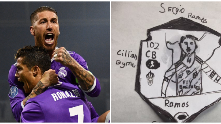 Sergio Ramos reaches out to nine-year-old Dub to thank him