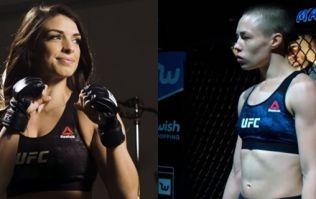 UFC champion Rose Namajunas already has her eye on Mackenzie Dern