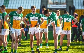 Wallace claims Offaly players were about to go on strike against county board two weeks ago
