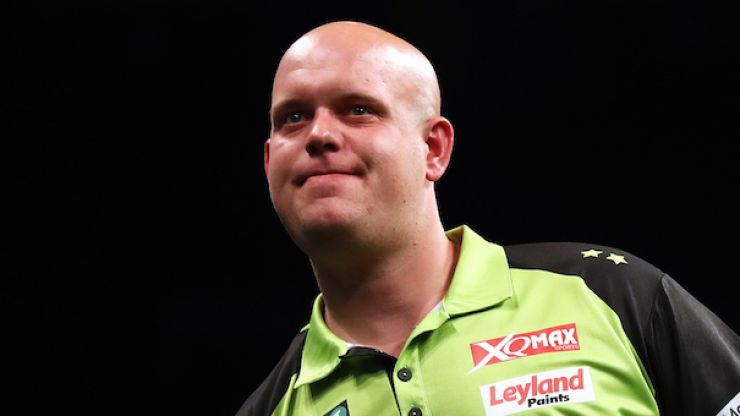 Michael van Gerwen making a scandalous amount of money per dart thrown