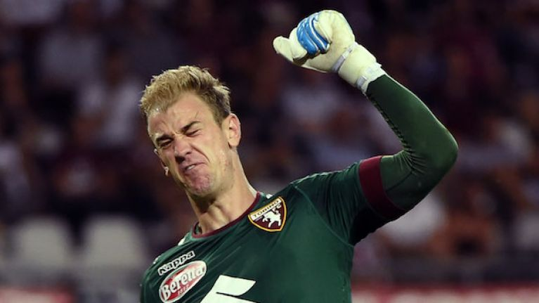 Joe Hart undergoing medical at Burnley