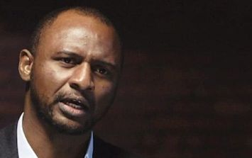 Patrick Vieira reportedly about to take over Nice as manager