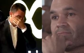 Xavi's emotional farewell to Andres Iniesta will break your heart in two