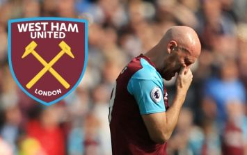 James Collins released by West Ham in the cruelest way possible
