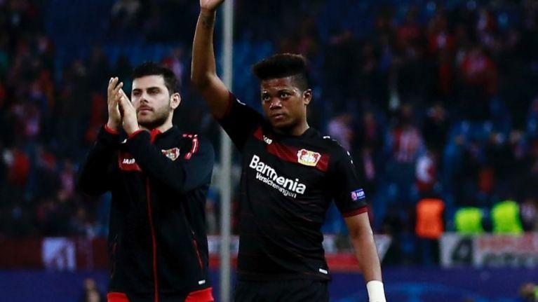 Bayer Leverkusen receive £52m bid for wonderkid winger Leon Bailey