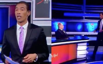 Springboks star storms off live broadcast after extraordinary Apartheid accusation