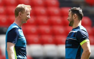 """""""I'm glad we're not playing Munster because it's very red out there"""" - Leo Cullen"""