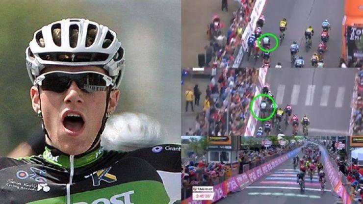 Ireland's Sam Bennett pulls off brilliant move to clinch historic victory at Giro d'Italia