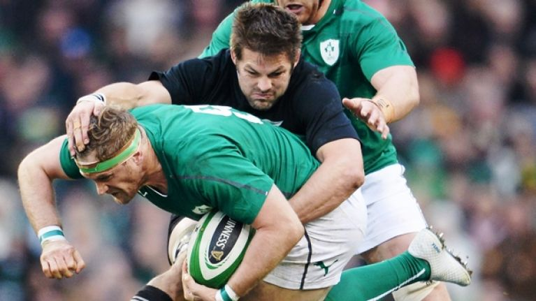 Jamie Heaslip and Richie McCaw agree on their toughest opponent