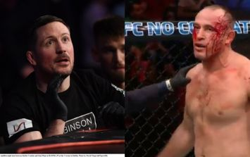 John Kavanagh's reaction to extremely rare UFC finish really says it all