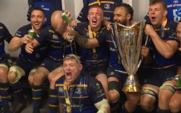 Behind-the-scenes look at Leinster's Champions Cup celebrations
