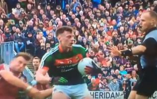 The Diarmuid O'Connor elbow that cost Mayo and makes it three in a row for Galway