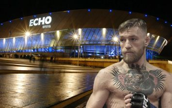 Conor McGregor in Liverpool this weekend for discussions with Dana White