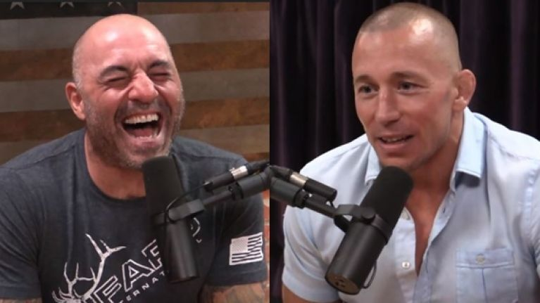 Georges St-Pierre recounts awkward bathroom encounter with Michael Bisping before their huge fight