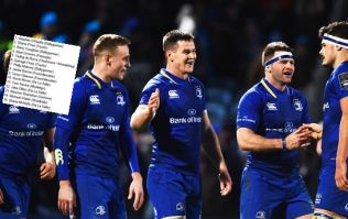 Ruddock gets nod ahead of Fardy as Leinster name team for Pro 14 final