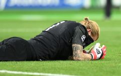 Liverpool's reaction to Loris Karius after the match said it all