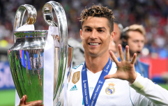 Cristiano Ronaldo's post-match comments suggest his time at Real Madrid is over